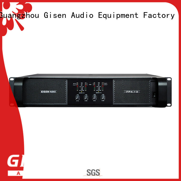 quality assurance amplifier for home speakers 4x1300w one-stop service supplier for vocal concert