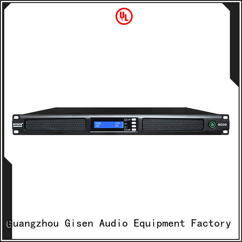 Gisen new model sound amplifier manufacturer for entertainment club