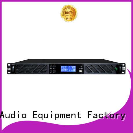 Gisen dsp dj power amplifier supplier