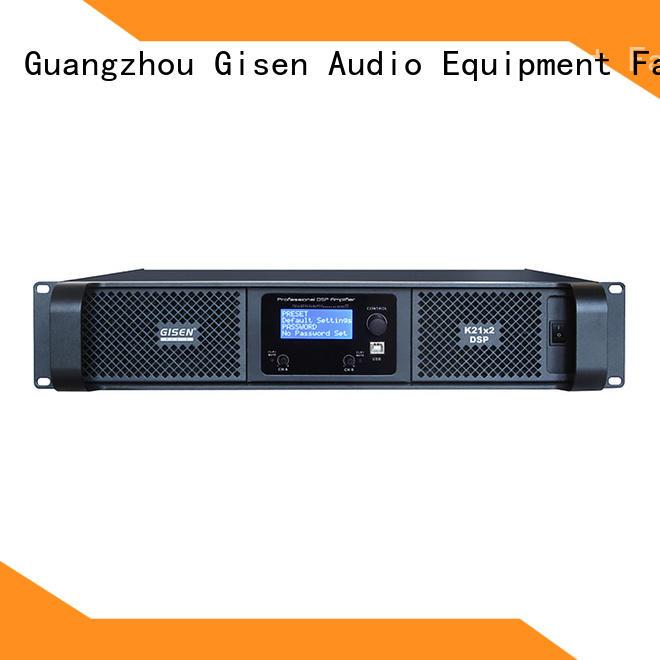 Gisen high quality direct digital amplifier supplier for venue