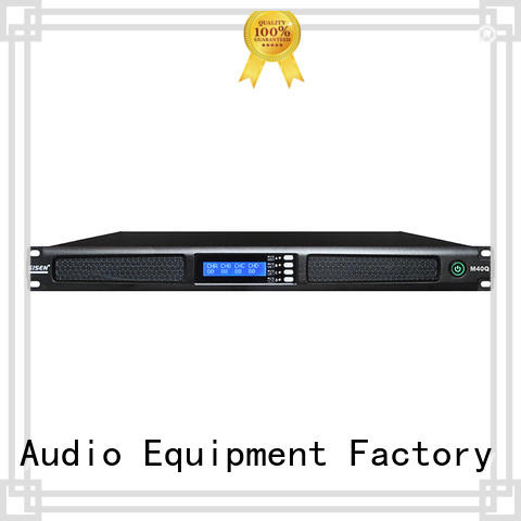 Gisen 1u 2 channel power amplifier series for venue