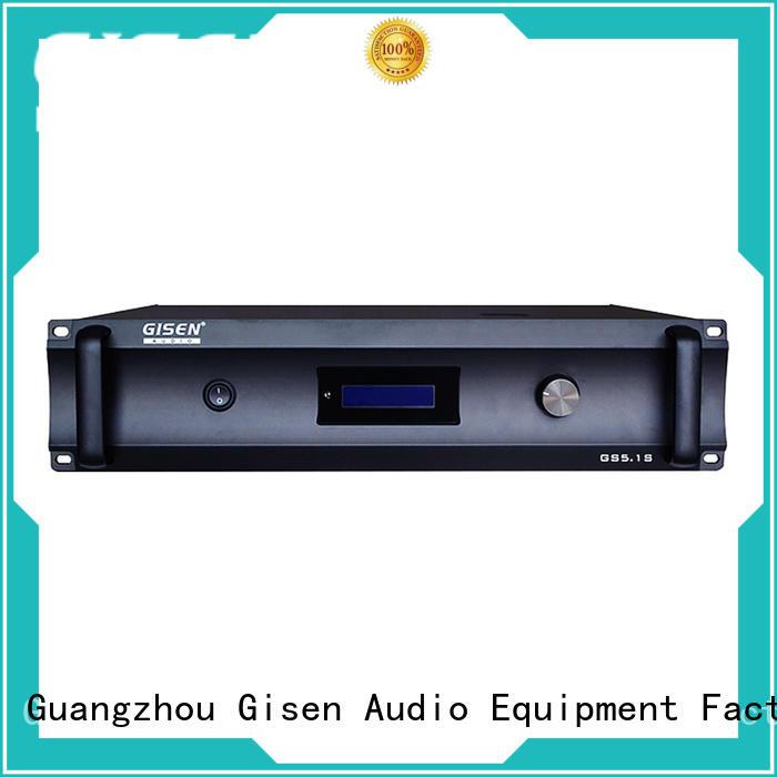 Gisen digital 4 channel amplifier home wholesale for ktv