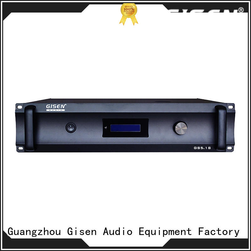 Gisen theatre stereo audio amplifier fair trade for home theater