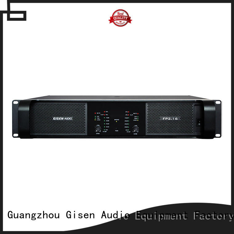 Gisen quality assurance stereo amplifier source now for various occations