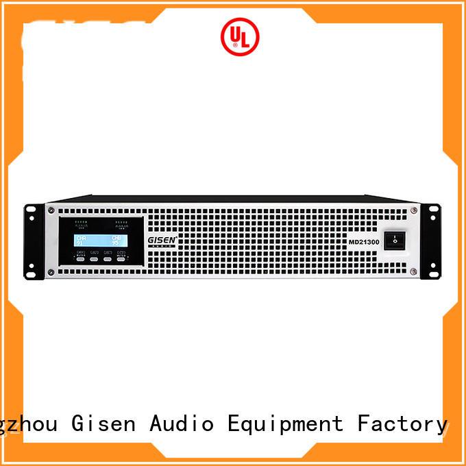 Gisen transformer stereo amp terrific value for conference