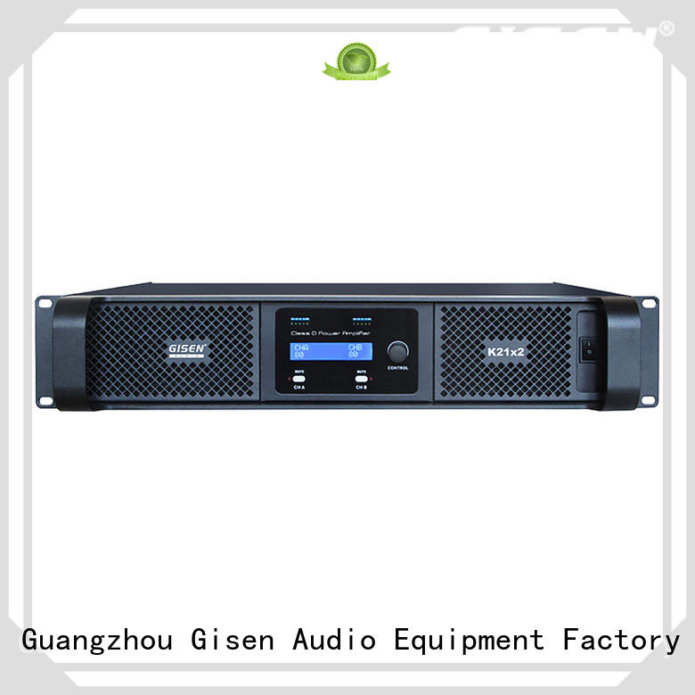 Gisen advanced top 10 power amplifiers fast delivery for performance