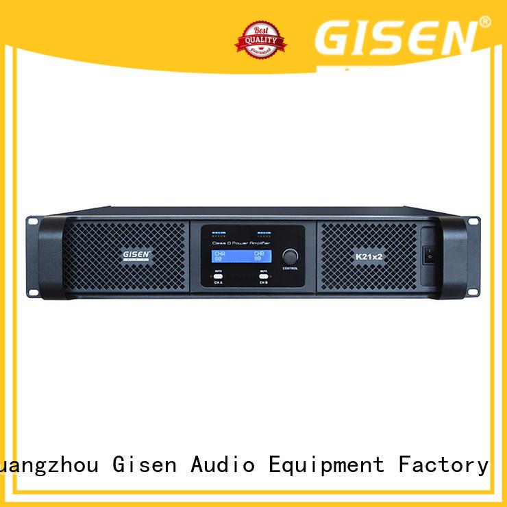 2100wx4 class d digital amplifier power for meeting Gisen