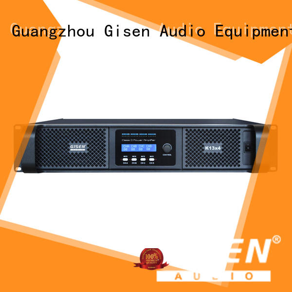 Gisen full range class d digital amplifier fast shipping for ktv