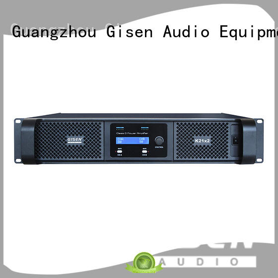 Gisen digital digital audio amplifier supplier for stadium