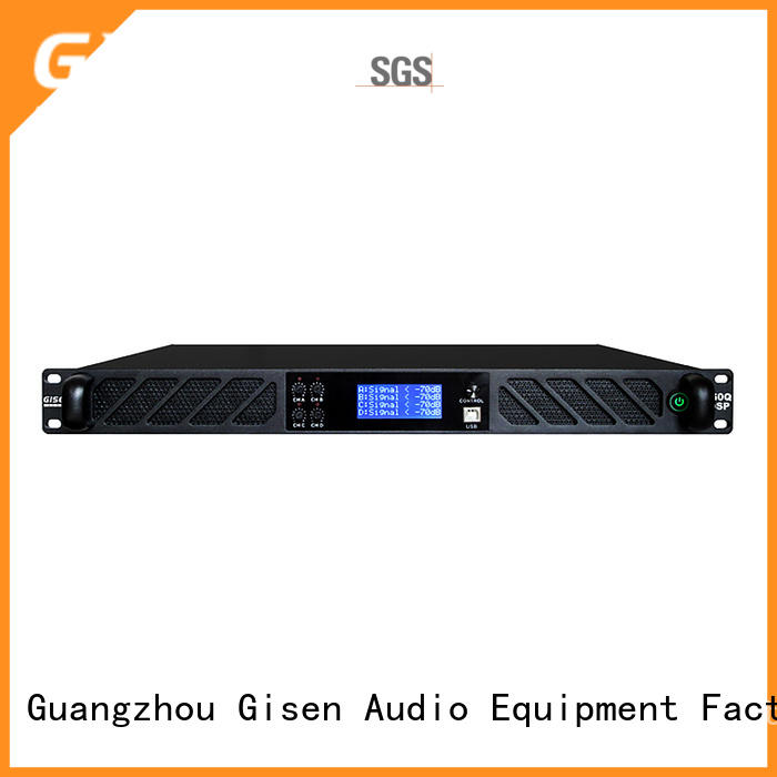 channel dsp power amplifier supplier for stage