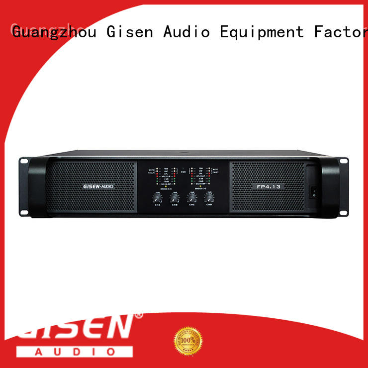 Gisen unreserved service power amplifier class td source now for performance