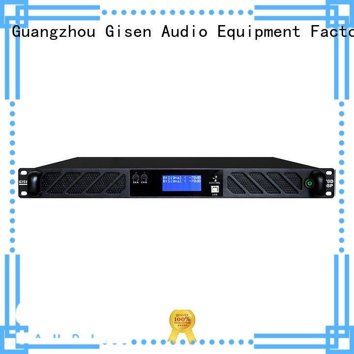 2 channel best power amplifier in the world wholesale for various occations Gisen