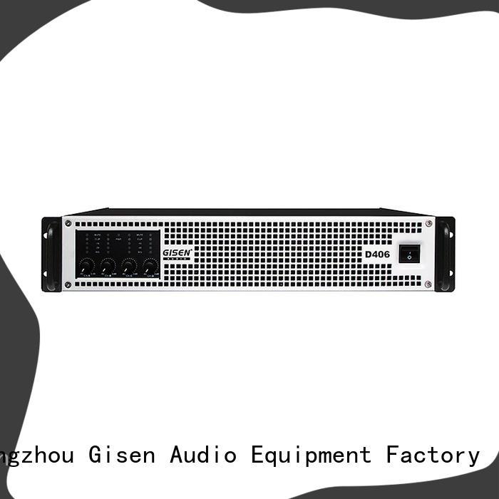 guangzhou class d amplifier 8ohm wholesale for stadium