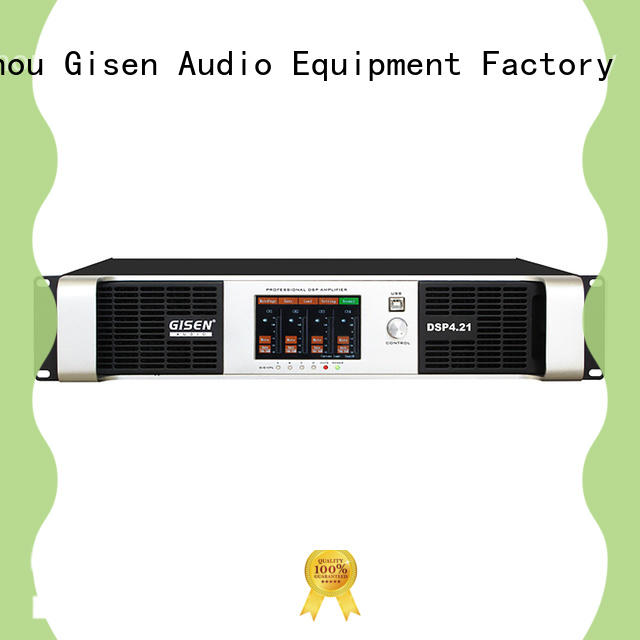 Gisen professional amplifier sound system wholesale for venue
