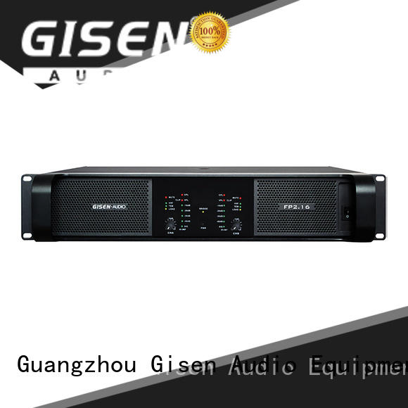 Gisen quality assurance sound power amplifier power for performance