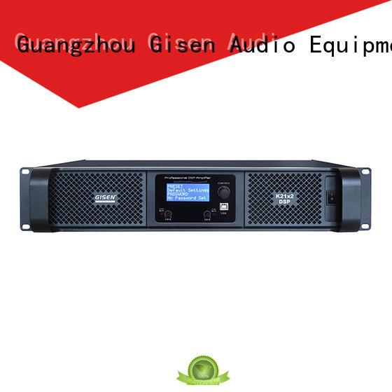Gisen 1u direct digital amplifier manufacturer for various occations