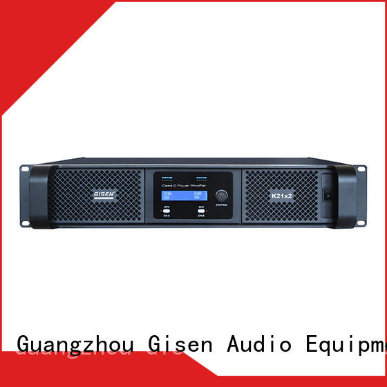 Gisen digital digital audio amplifier manufacturer for entertaining club