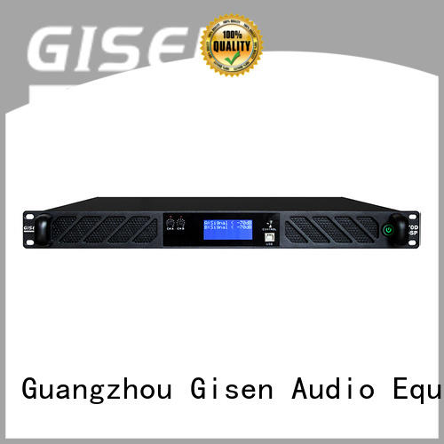 1u digital audio power amplifier wholesale for performance Gisen