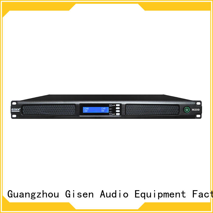 Gisen 2channel sound amplifier wholesale for performance