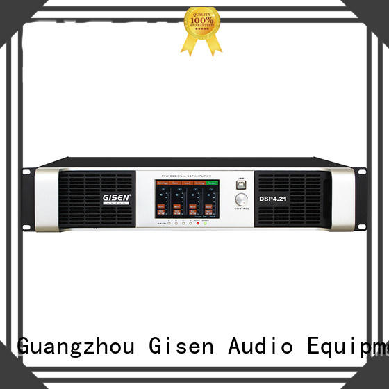professional dj stereo amplifier supplier for stage Gisen