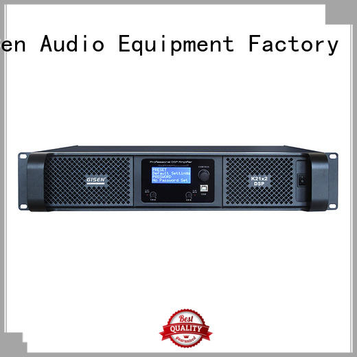 multiple functions dsp amplifier supplier for stage