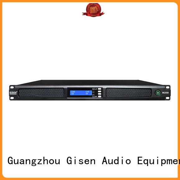 Gisen amplifier sound amplifier supplier for venue