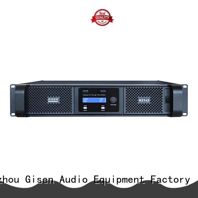 advanced class d amplifier high end wholesale for entertaining club Gisen