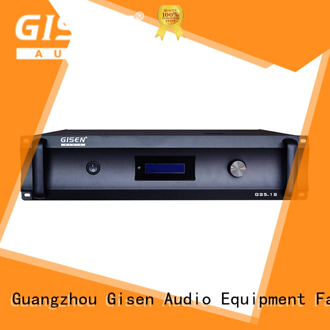 low distortion 2 channel amplifier home audio manufacturer for private club