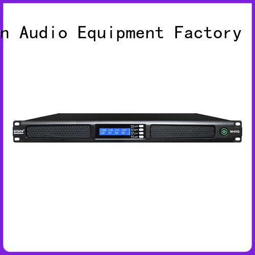 Gisen 4 channel digital power amplifier series for venue