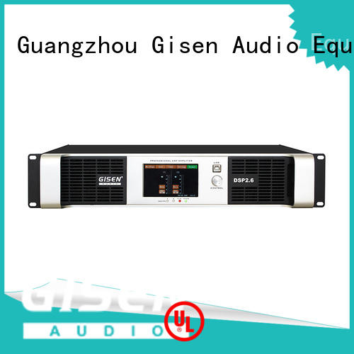 1u multi channel amplifier 8ohm for stage Gisen