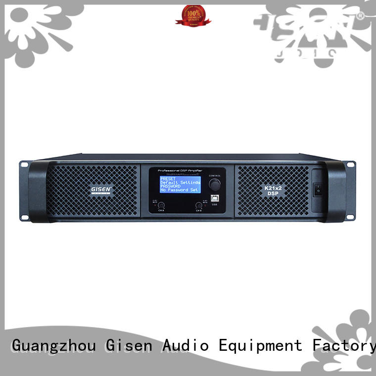 multiple functions dsp power amplifier 4 channel supplier for performance
