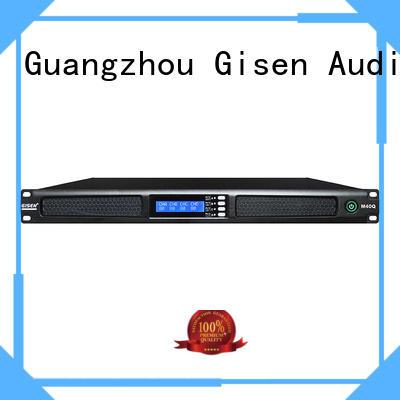 Gisen new model 4 channel amplifier supplier for venue
