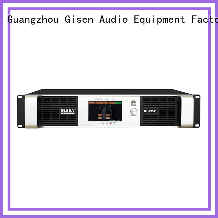 multiple functions multi channel amplifier channel wholesale for venue