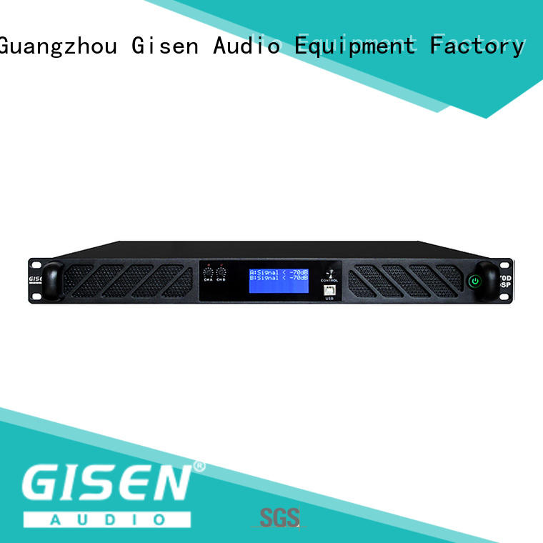 high quality dsp power amplifier digital supplier for venue