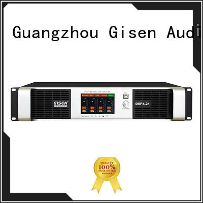 Gisen 8ohm dsp amplifier manufacturer for performance