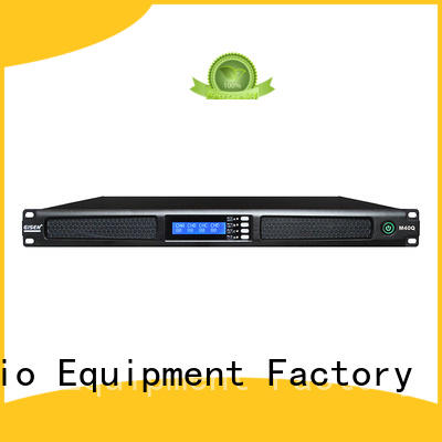 Gisen new model audio power amplifier manufacturer for venue