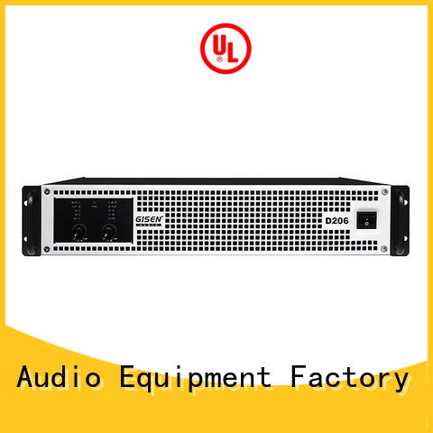 High efficiency professional power amplifier