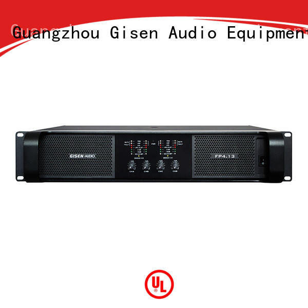 Gisen quality assurance power amplifier class td one-stop service supplier for ktv