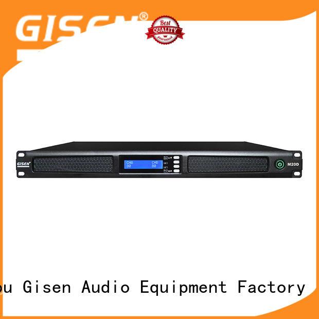 Gisen amplifier digital power amplifier series for entertainment club