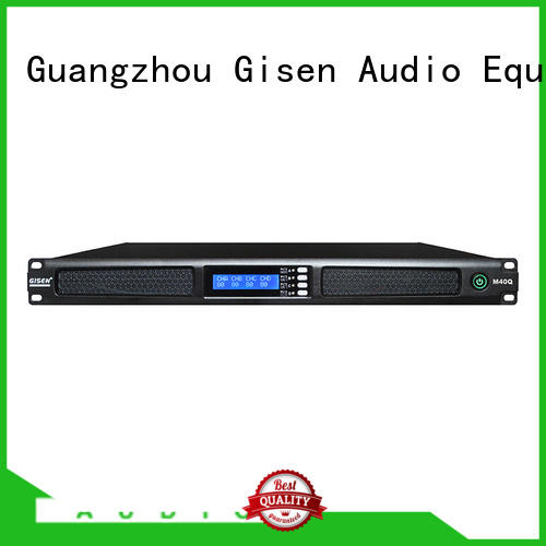 new model 4 channel digital amplifier wholesale for entertainment club Gisen