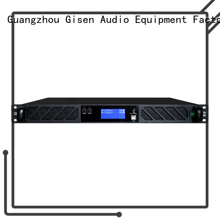 Gisen touch screen amplifier power supplier for stage