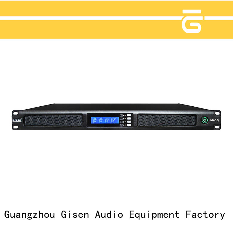 Gisen new model audio amplifier series for entertainment club