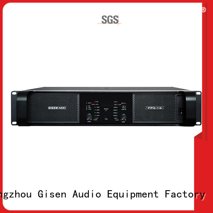 Gisen quality assurance class td amplifier one-stop service supplier for vocal concert
