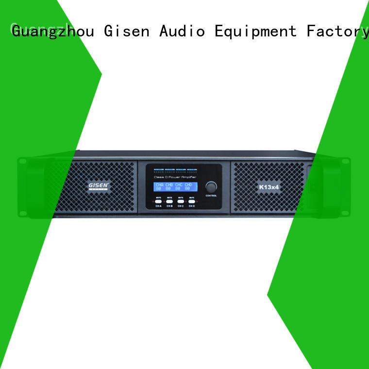 Gisen guangzhou class d digital amplifier wholesale for ktv