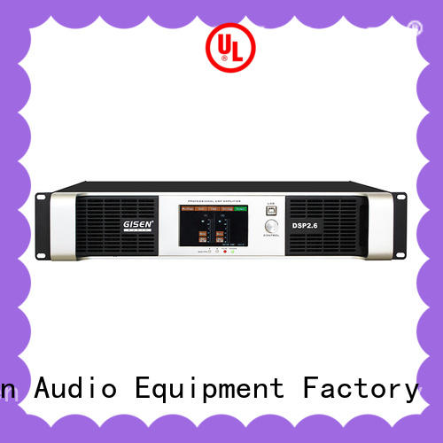 Gisen high quality dsp power amplifier wholesale for various occations