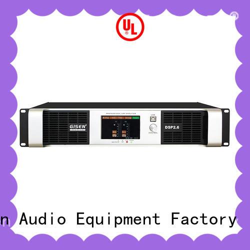 Gisen 8ohm multi channel amplifier wholesale