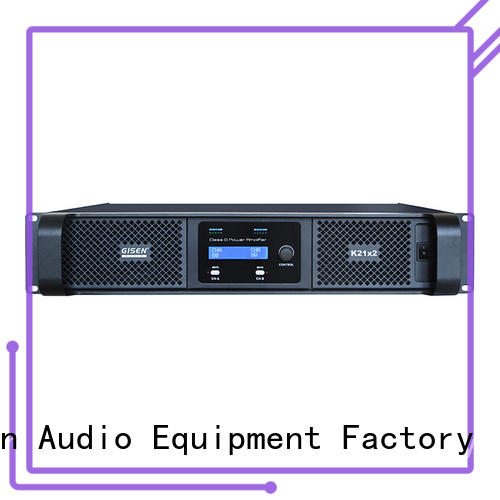 Gisen high efficiency best class d amplifier manufacturer for meeting
