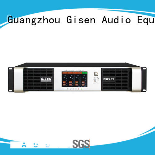 Gisen multiple functions direct digital amplifier wholesale for venue