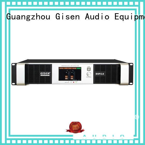 digital homemade audio amplifier 2 channel Gisen