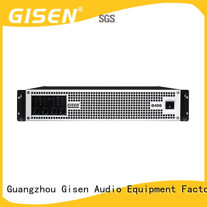 Gisen full range dj amplifier supplier for ktv